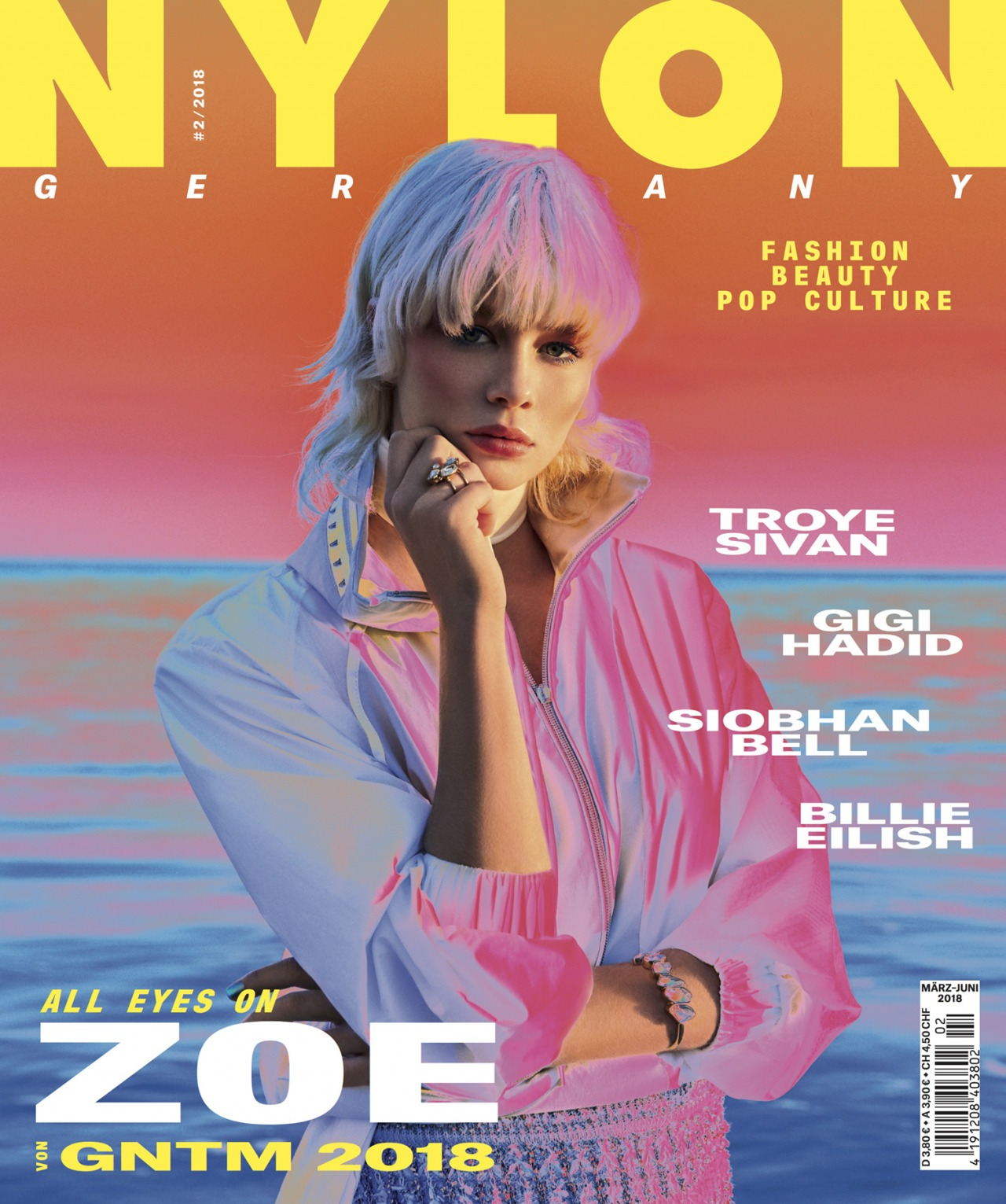 RETUSH Creative Retouching NYLON Magazine x GNTM 2018